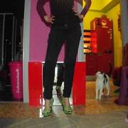 le mie scarpe stiletto zombie stile